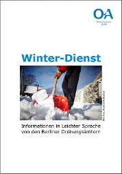Winter-Dienst in Leichter Sprache